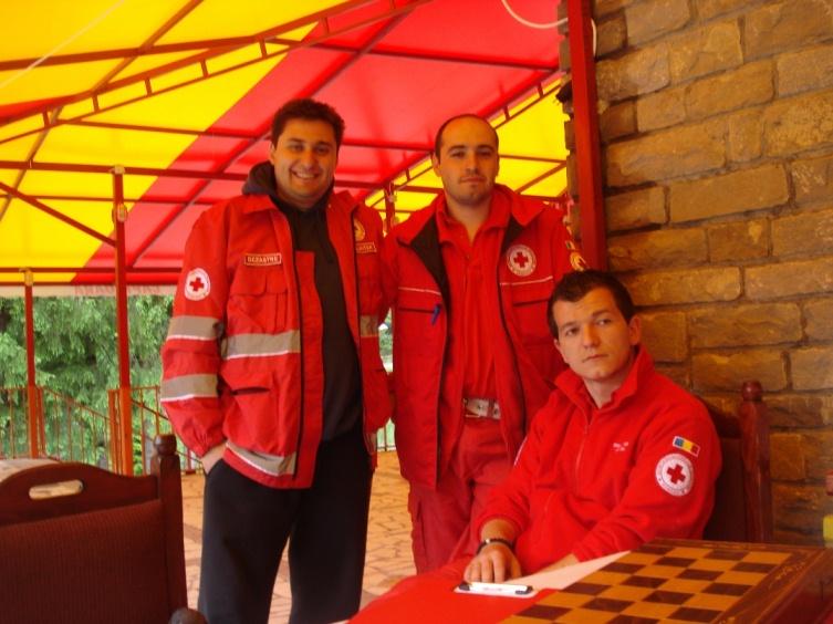 Crucea Rosie Ilfov - Tabara de Pregatire pentru Balcaniada 2012