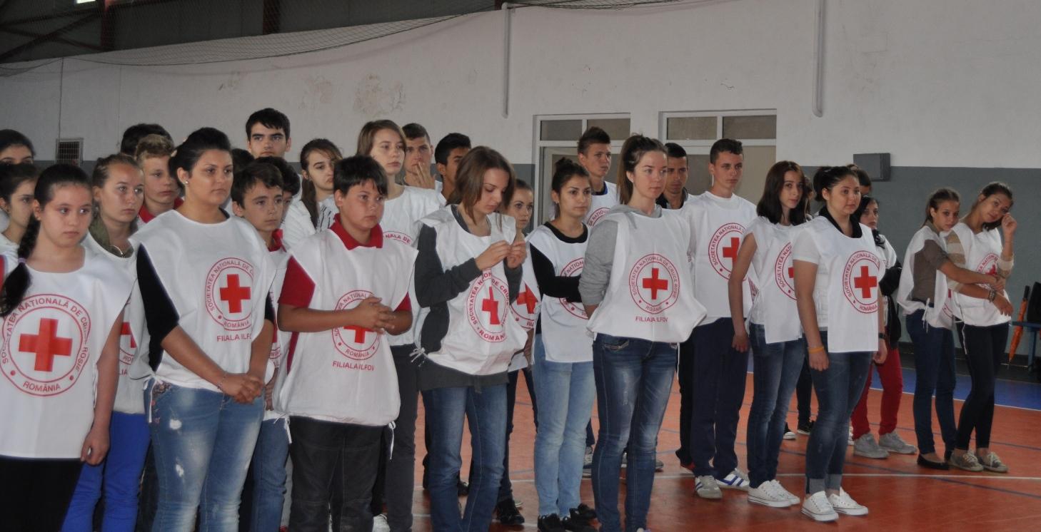 Crucea Rosie Romana Filiala Ilfov - Sanitarii Priceputi 2013