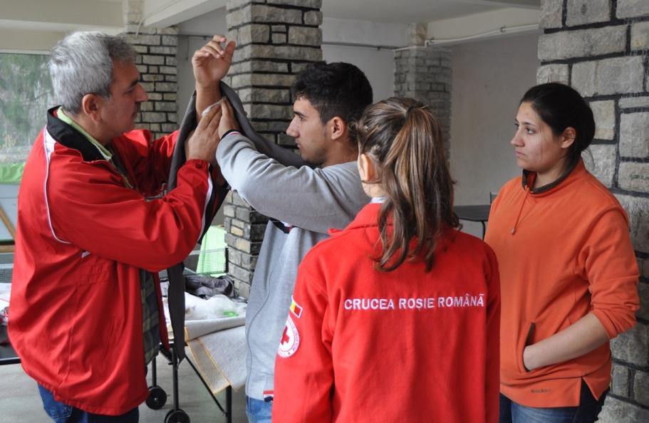 Crucea Rosie Romana Filiala Ilfov, Tabara de Pregatire